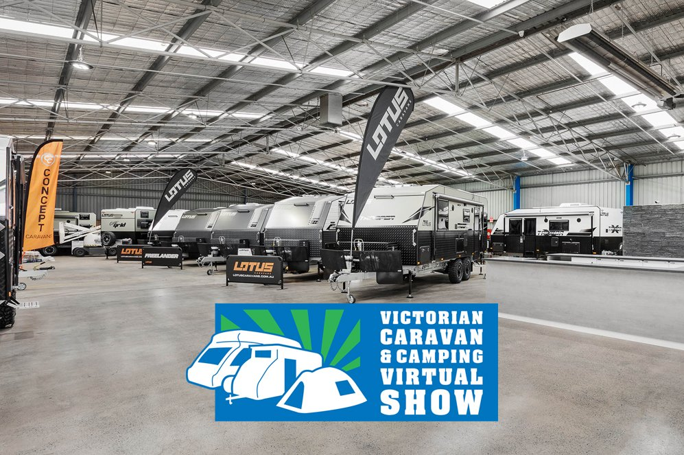 Visit us at the Victorian Camping & Caravan Virtual Show