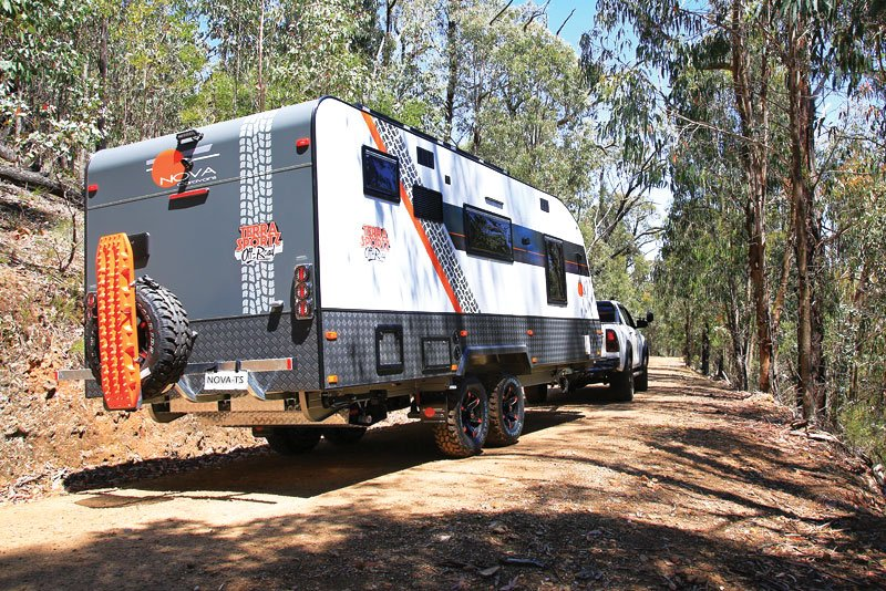 AN OFF-ROAD CARAVAN WITH STYLE